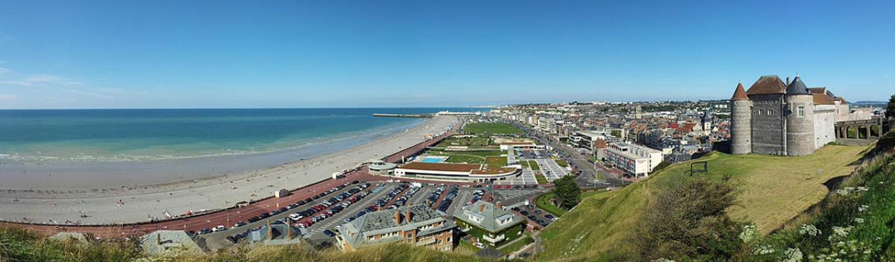 Visite Dieppe Dieppe.City_.Panorama.July2011